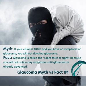 Glaucoma Facts vs Myths Number 1