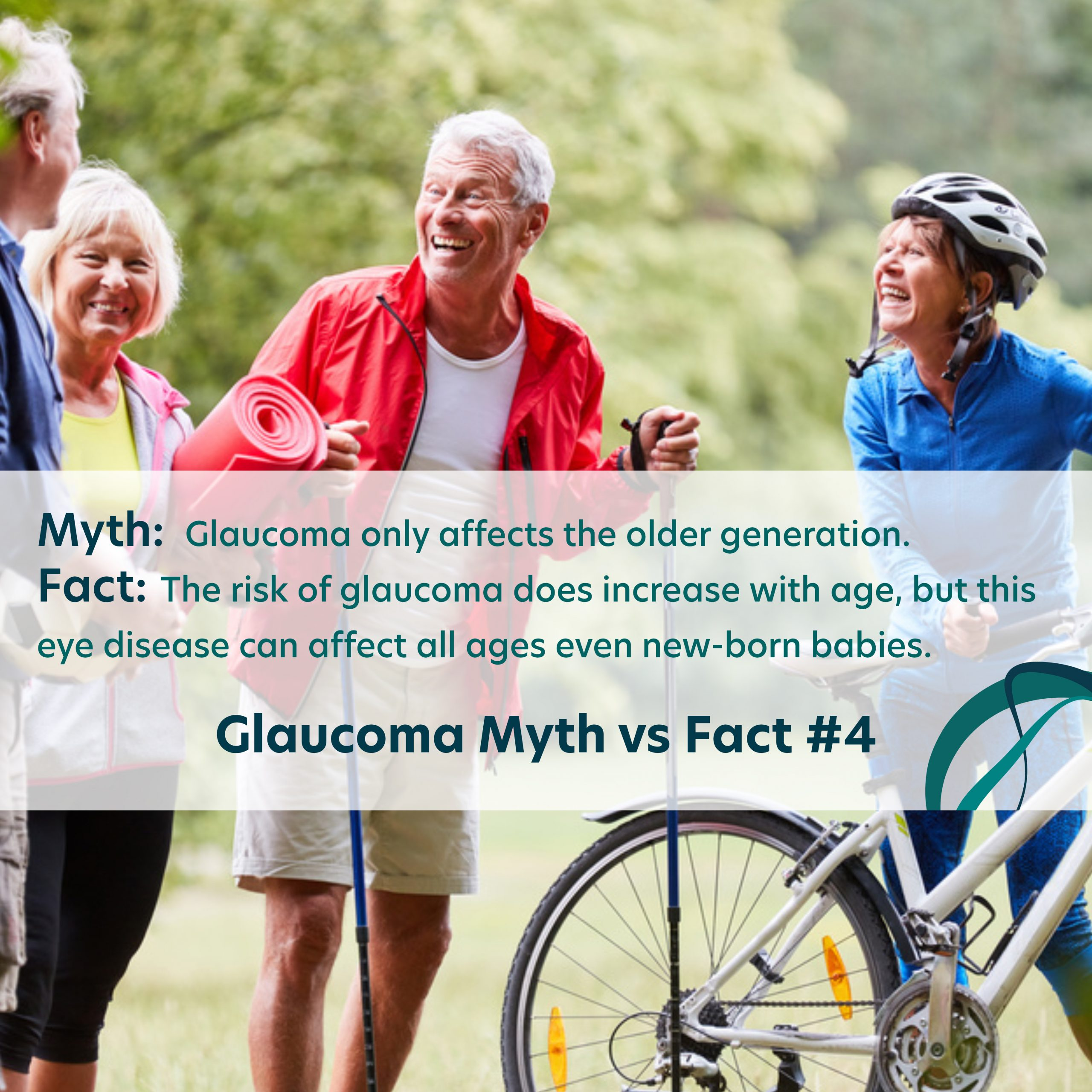 Glaucoma Myths vs Facts Number 4