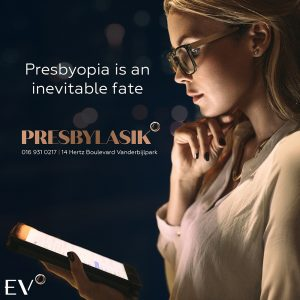 Presbyopia is the inevitable fate of all of us.