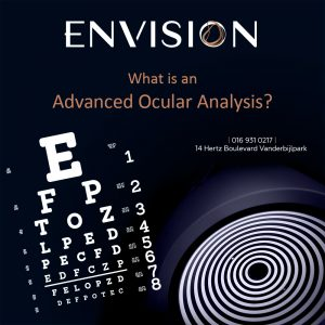 What is an Advance Ocular Analysis?
