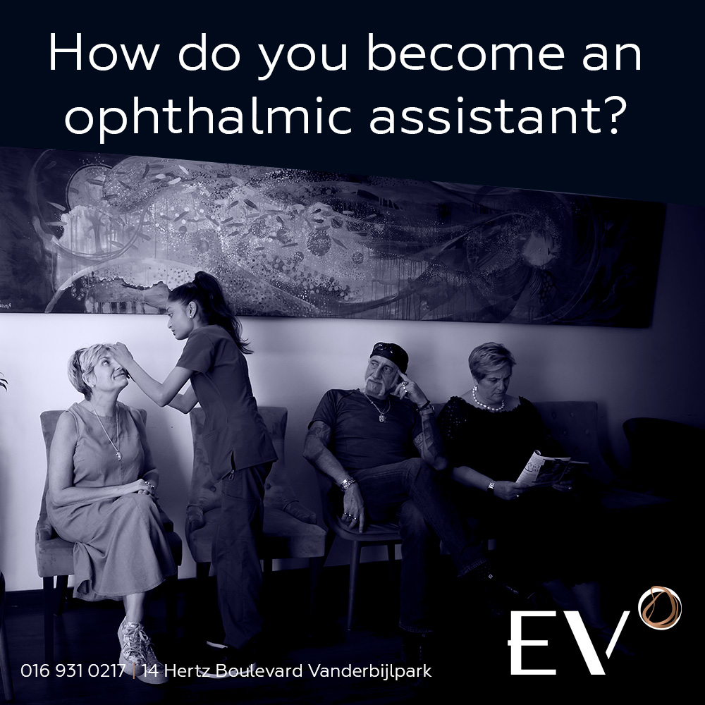 How do you become an ophthalmic assistant?