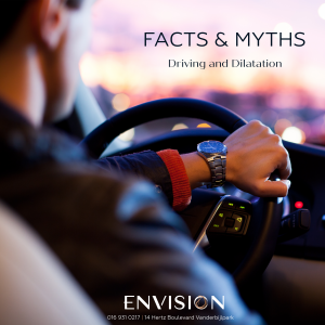 Is it safe to drive with dilated pupils?
