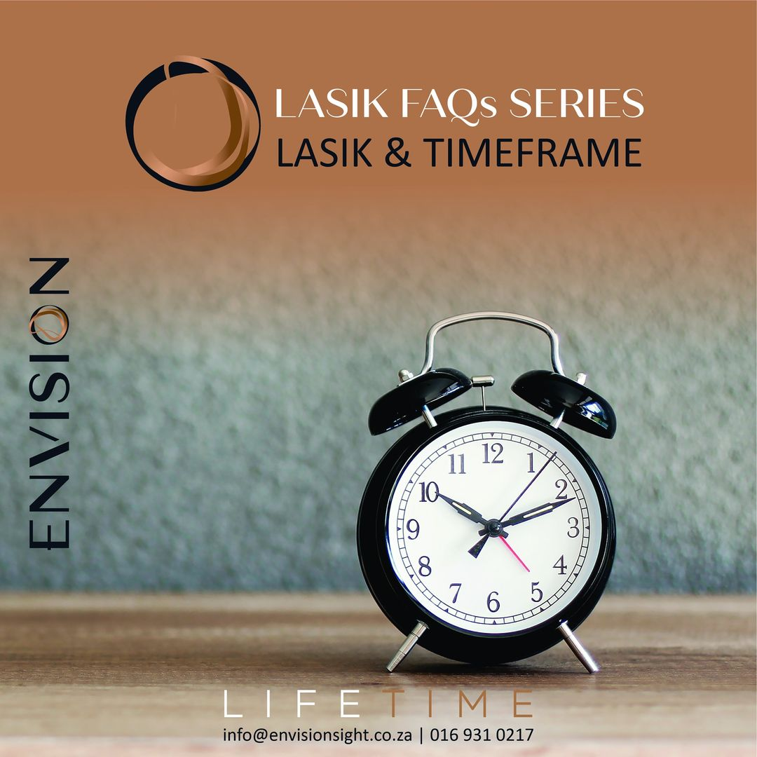 How much time will LASIK take?